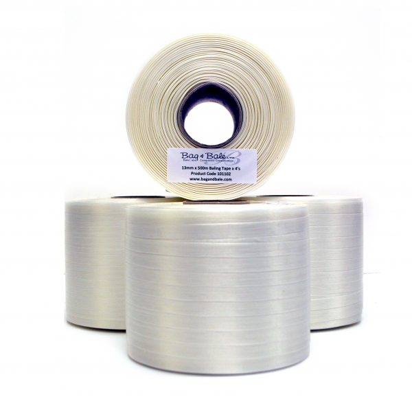 Baling Tape 13mm x 500m (Packed in 4's / Min Qty 8)