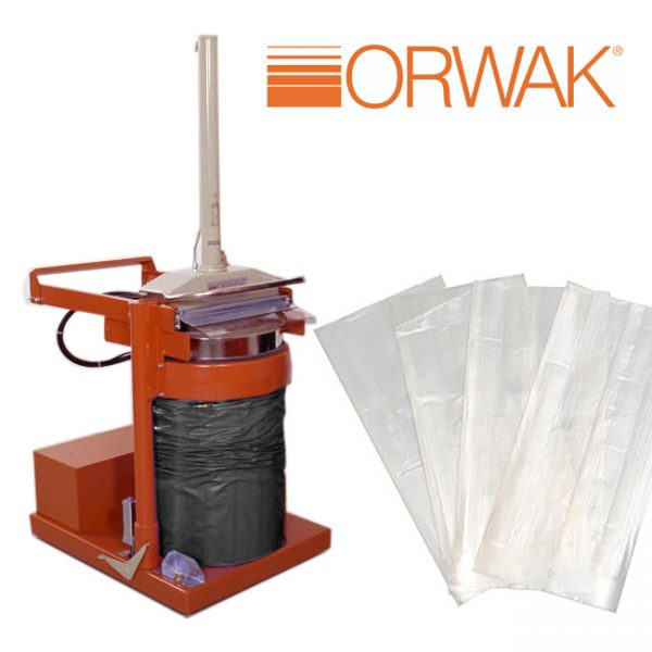 Orwak 5030 Clear Sacks (Packed in 100's / Min Qty 200)