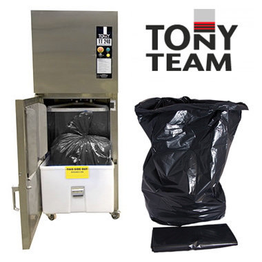 Tony Team 240 Black Sacks (Packed in 50's)