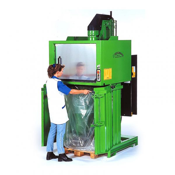Bergmann Clear Compactor Sacks for PS1400E (Packed in 25's / Min Qty 100)